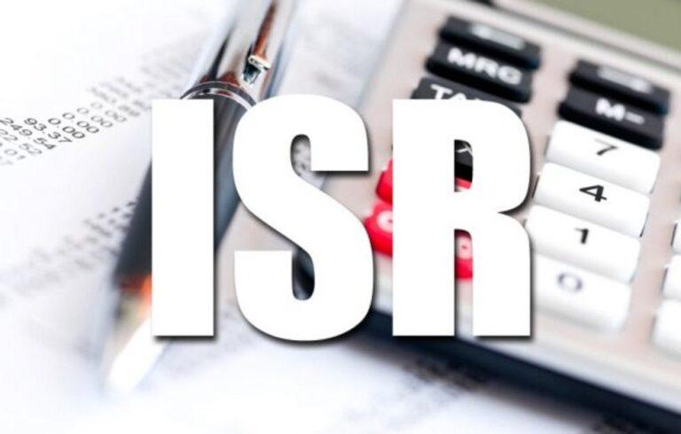 Retenciones del Impuesto Sobre la Renta (ISR).